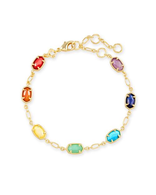 Emilie Link Primary Gold Bracelet