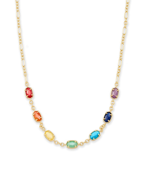 Emilie Necklace Primary Gold