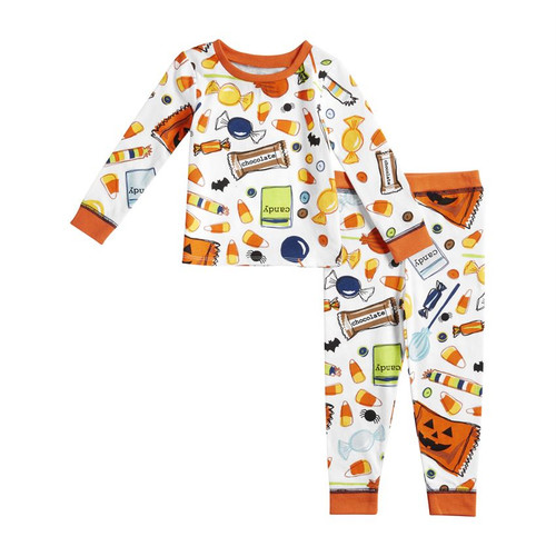 12m Halloween Candy Pajamas