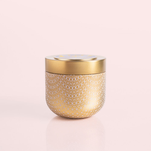 Exotic Blossom & Basil Gilded Muse Tin Candle
