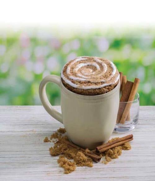 Cinnamon Coffee Cake Microwave Single