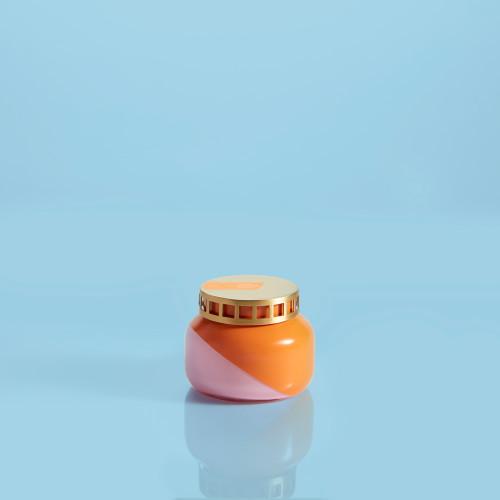 Orange 8 oz Dual Tone Candle