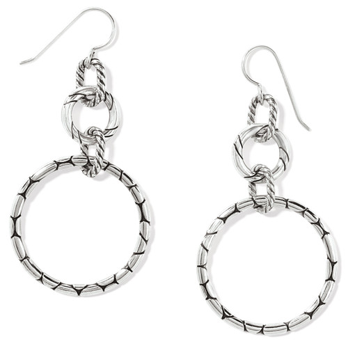 Pebble Rings French Wire Earring