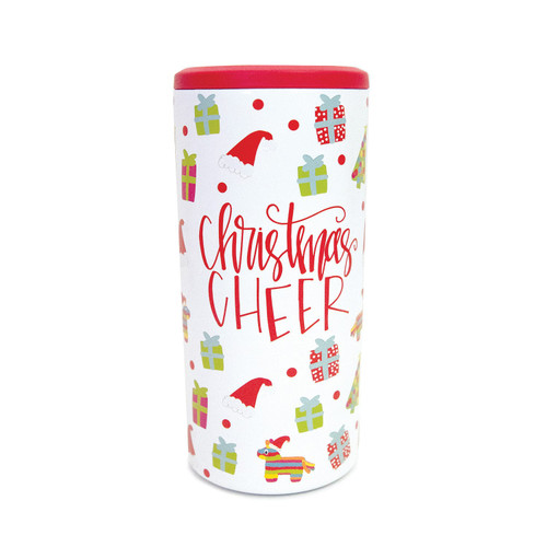 Christmas Skinny Can Cooler