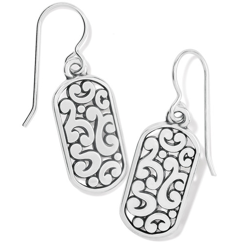 Contempo Tag French Wire Earring