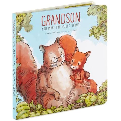 Grandson, You Make the World Grand! Board Book