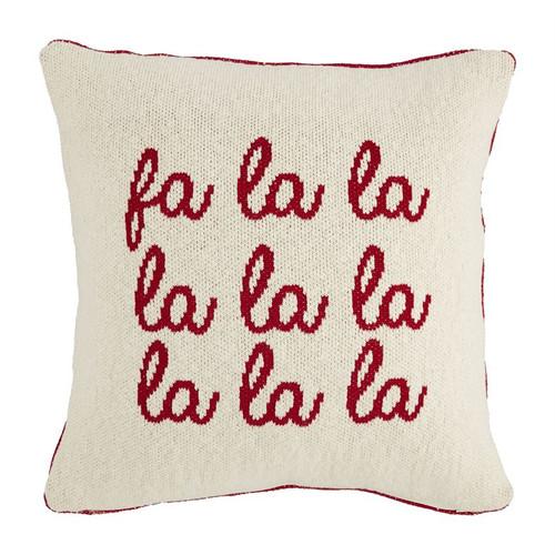Square Knit Reversible Pillow