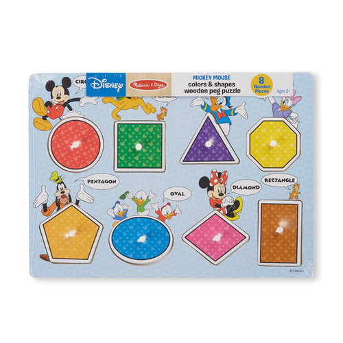 Mickey Mouse Color/Shapes Puzzle
