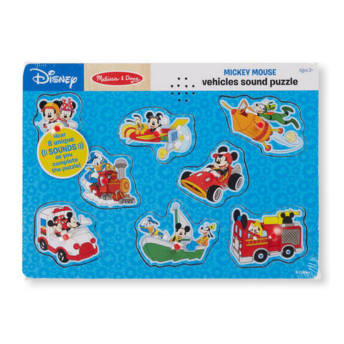Mickey Vehicles Sound Puzzle