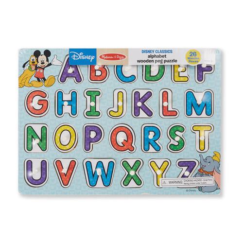 Disney Aphabet Puzzle