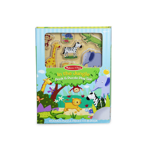 Jungle Book & Puzzle Set