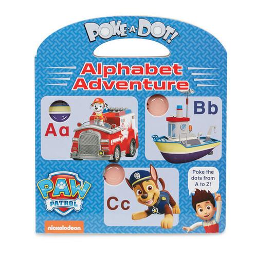 Alphabet Paw Patrol Poke a Dot Book