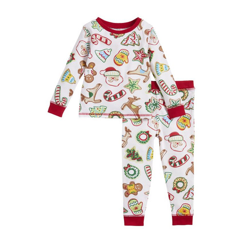 12m Christmas Cookies Pajamas