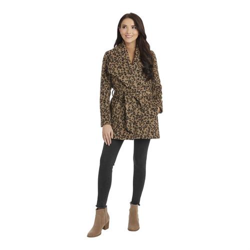 Medium Albany Leopard Coat