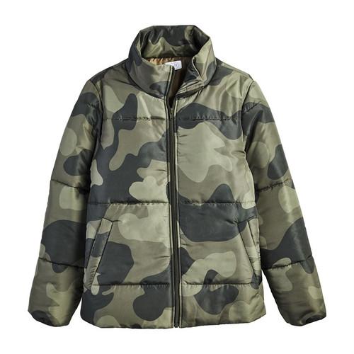 Small Camo Wade Puffer Jacket