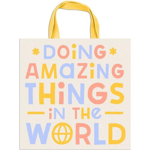 Change The World Canvas Bag