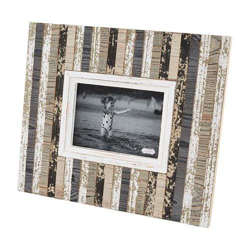 5x7 Wood Planked Frame