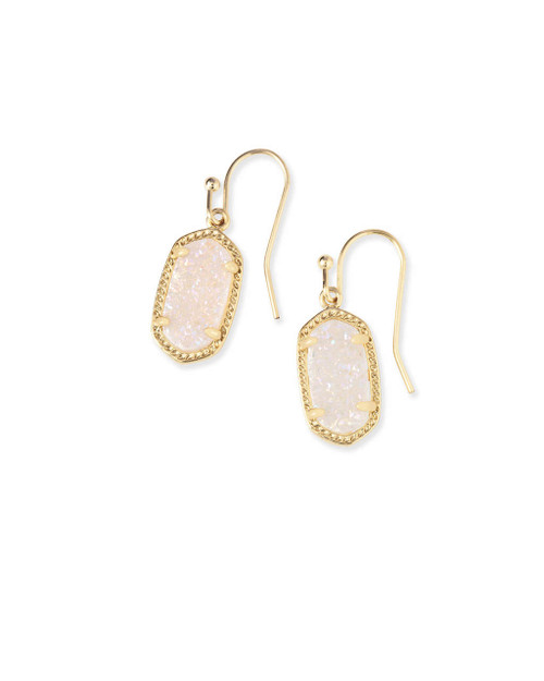 Lee Earring Gold and Iridescent