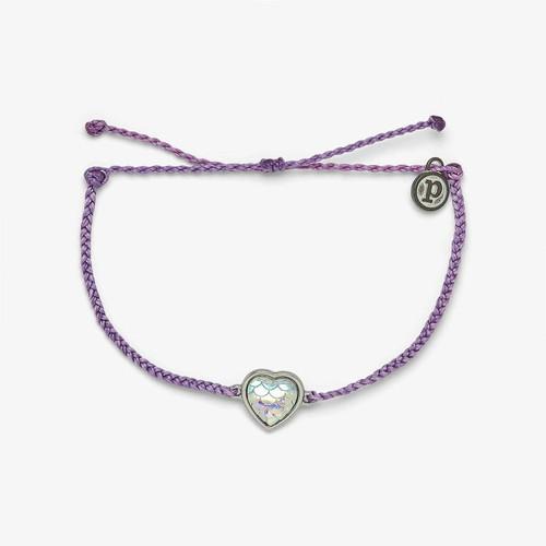 Mermaid Heart Silver Bracelet