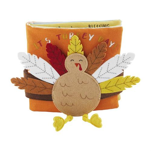 Turkey Day Book W/ Headband