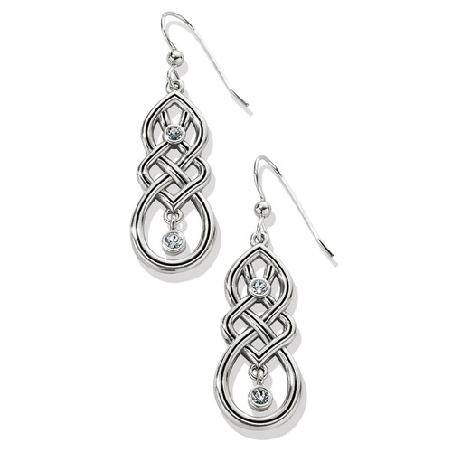Interlok Cascade French Wire Earrings