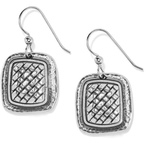 Ferrara Artisan Silver French Wire Earrings