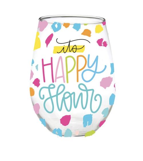 Happy Hour Glass Stemless