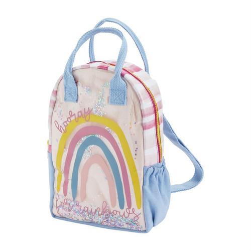 Rainbow Vinyl Backpack