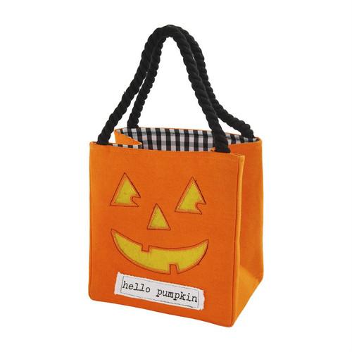 Pumpkin Light Up Candy Bag