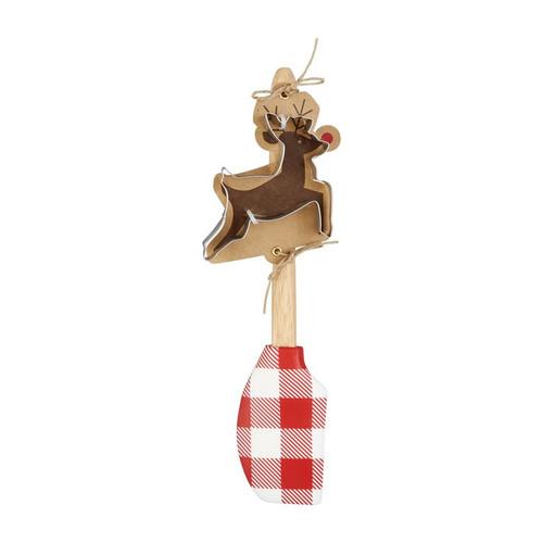 Reindeer Spatula Cutter Set