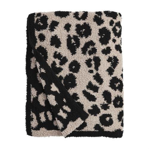 Tan Leopard Blanket