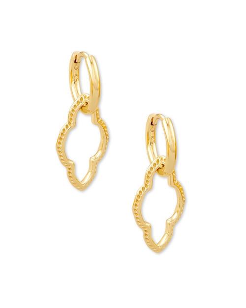 Abbie Huggie Gold Earring