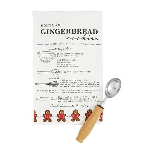 Gingerbread Recipe Towel Set