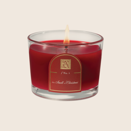 Smell of Christmas Round Candle