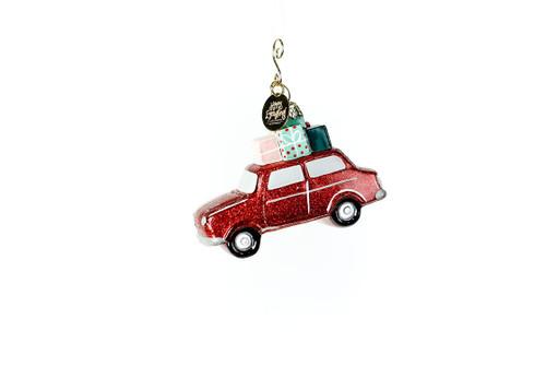 Holiday Car Shaped Ornament
