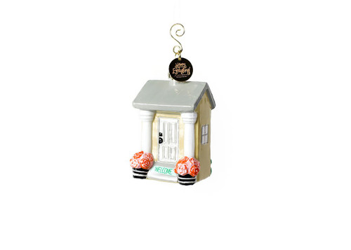 House Welcome Shaped Ornament