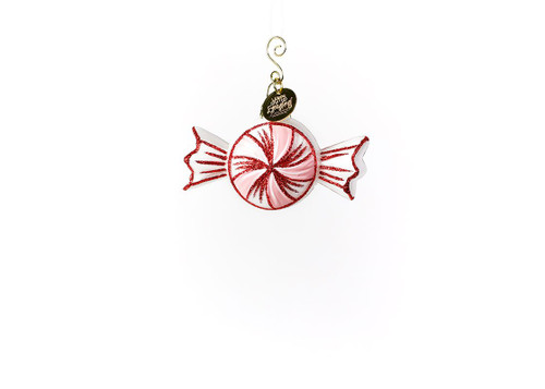 Peppermint Shaped Ornament