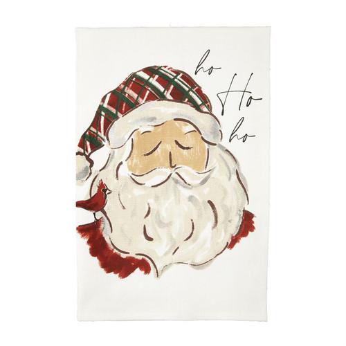 Ho Ho Printed Santa Towel