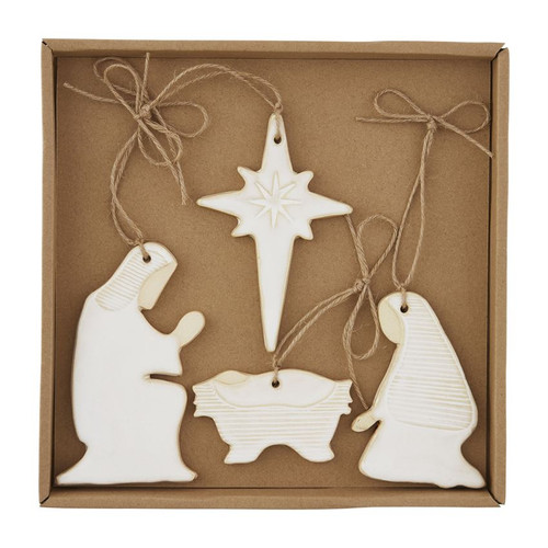 Nativity Ornament Box Set