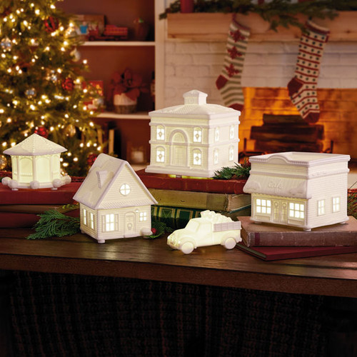 Hallmark Channel Christmas Village with Light and Sound