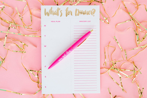 What's For Dinner Meal Planner