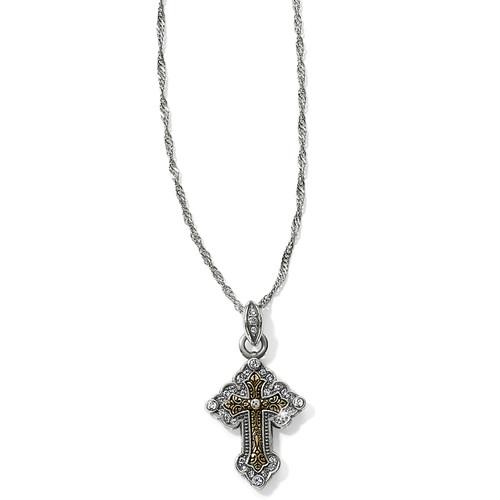 Greek Petite Cross Necklace