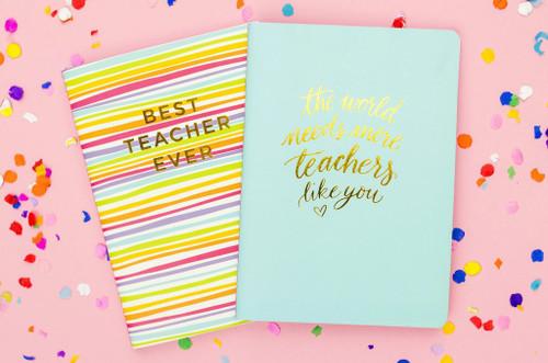 Best Teacher Notebook Set