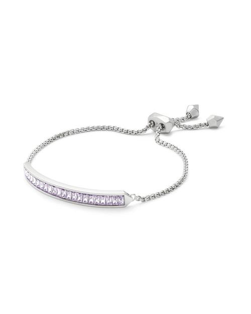 Jack Bracelet Silver Lilac