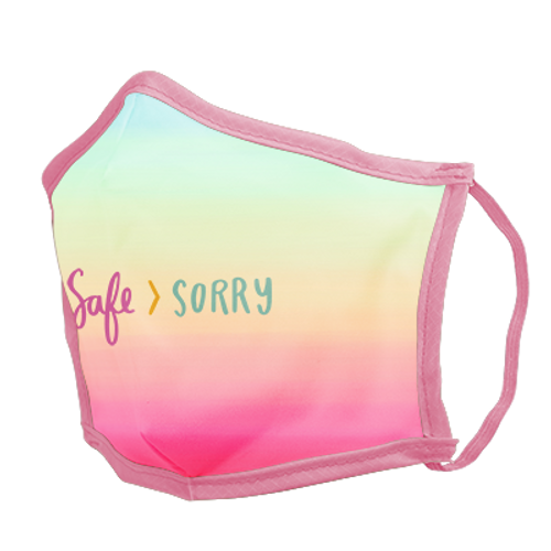 Safe Sorry Face Mask