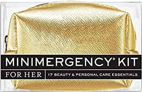 Metallic Gold Minimergency Kit