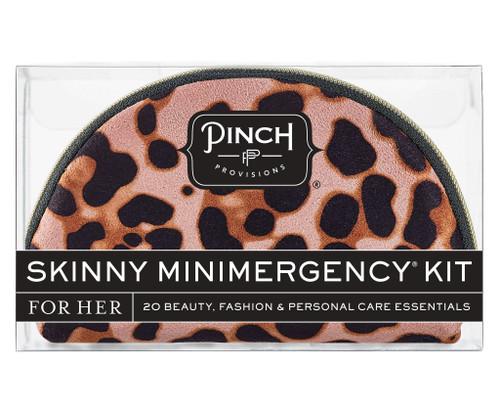 Blush Leopard Skinny Minimergency Kit