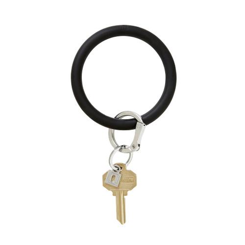 Back in Black Big O Silicone Key Ring