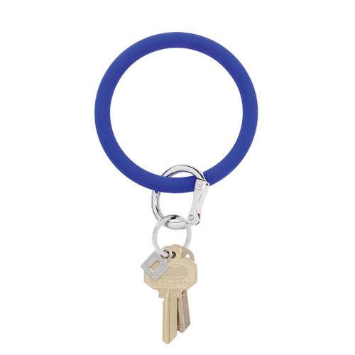 Blue Me Away Big O Silicone Key Ring