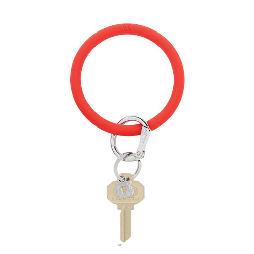 Cherry on Top Red Big O Silicone Key Ring